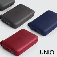 【UNIQ】10000mAH 無線快充帶支架螢幕行動電源(3色)