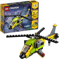 LEGO 樂高 造物主3合1直升機冒險31092 (157件)
