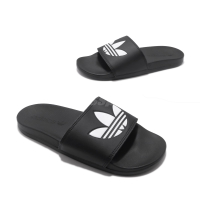 KUMO SHOES-現貨 ADIDAS ORIGINALS ADILETTE LITE 黑白 軟底 拖鞋 男女 EG9842