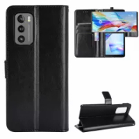 For LG Wing Case Luxury Flip PU Leather Wallet Lanyard Stand ShockProof Case For LG Wing 5G LGWing Phone Bags