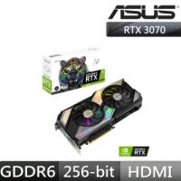【ASUS 華碩】KO-RTX3070-O8G-V2-GAMING+華碩 TUF B450M-PLUS II(此為1片顯示卡+2片主機板/限制算力)
