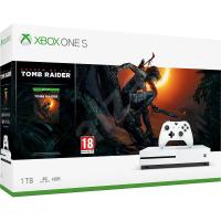 XBOX ONE S《古墓奇兵:暗影》1TB 同捆組 白色保固半年