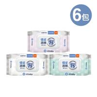 優生 酒精濕巾 75% Alcohol 超厚型40抽(6包)