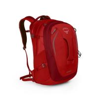【OSPREY|美國】Comet 30 日用系列都市休閒筆電包-紅 10000555