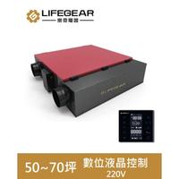 【Lifegear 樂奇】HRV-350GH2  變頻全熱交換機(數位液晶控制-220V)