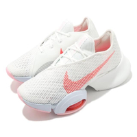 【NIKE 耐吉】訓練鞋 Zoom SuperRep 2 女鞋 氣墊 舒適 避震 健身房 運動 球鞋 白 紅(CU5925-100)