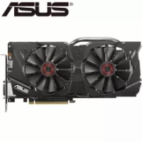 ASUS Video Card Original GTX 970 4GB 256Bit GDDR5 Graphics Cards for nVIDIA VGA Cards Geforce GTX970 Hdmi Dvi game Used On Sale