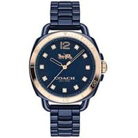 刷卡滿3千回饋5%點數 COACH 耀眼時尚女陶瓷腕錶/14502753