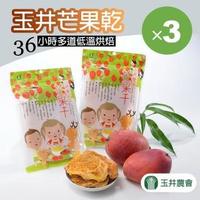 【玉井農會】玉井愛文芒果乾-160g-包(3包一組)