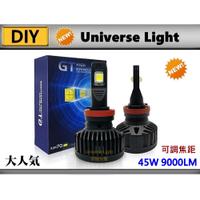 GT 9000LM 解碼 LED 大燈 H4/HS1/H17/H7/H11/H16/9006/9012 勁戰 雷霆 頭燈