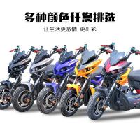 ☆NICE★【免運】戰狼電動車極客新款X戰警電摩72V高速成人男女踏板電瓶車電動摩托