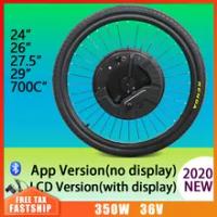 24-29inch IMortor 3 Electric Bike 36V350W Bike Wheel Hub Motor Front Motor Wheel Ebike Conversion Kit E Bike Motor Wheel