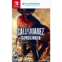【Nintendo 任天堂】NS Switch 荒野雙蛟龍:槍神 英日文美版(下載版 Call Of Juarez Gunslinger)