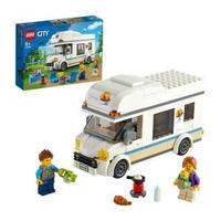 【LEGO 樂高】城市系列 假期露營車 60283 露營車 角色扮演(60283)