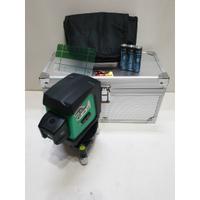 AJ工具 5D點雷射 5點雷射水平儀 板模神器 打線 雷射垂直儀 墨線 板模用 綠光 AK-355G