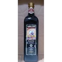 【小如的店】COSTCO好市多代購~KIRKLAND 摩地納香醋-含75%以上葡萄原汁(每瓶1000ml)玻璃瓶