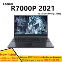Lenovo Legion R7000P 2021 15.6Inch Laptop Chơi Game AMD Ryzen5-5600H/Ryzen7-5800H GeForce RTX 3050Ti 16GB 512GB SSD máy Tính Xách Tay
