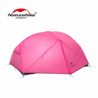 Naturehike 210T Mongar สีชมพู2-3คน Camping Ultralight กลางแจ้งเต็นท์กันน้ำ NH19M002-J
