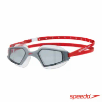 【SPEEDO】成人進階泳鏡Aquapulse Max 2(熔岩紅)