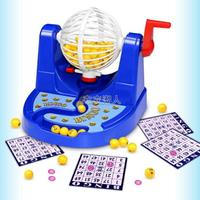 賓果游戲機模擬彩票搖獎機益智桌面玩具親子趣味玩具