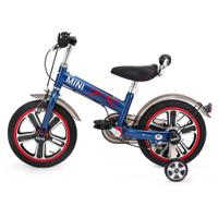 【淘氣寶寶】英國 Mini Cooper 城市型兒童自行車/腳踏車14吋-閃電藍