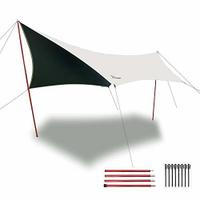 Vidalido | Flysheet Tarp ผ้าใบบังแดด ผ้าใบคลุมเต็นท์ (คละทรง)