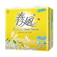 春風柔韌細緻抽取式衛生紙 110抽x10包  【大潤發】
