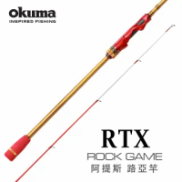 【OKUMA】RTX Rock Game 阿提斯 岸拋大根竿-9尺MH(岸拋天亞/重根釣法適用)