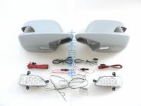 大禾自動車 改裝型 後視鏡蓋+LED燈 方向燈 照地燈 素材 適用 本田 HONDA 3代 CRV 07年