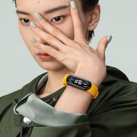 【廠家直銷】小米手環6代NFC版全屏防水智能運動心率計步器藍牙手環5升級版