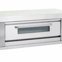 Commercial Single Deck 4 Pans Pastry Gas Baking Oven One Layer Four Trays Bread Pizza Cake Food Baking Equipment