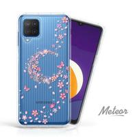 【Meteor】SAMSUNG Galaxy M12 奧地利彩鑽空壓防摔手機殼(櫻月)
