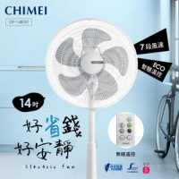 【CHIMEI 奇美】14吋微電腦豪華款智能溫控DC節能電風扇(DF-14B0ST)