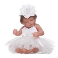 28 Cm Tidur Mini Baby Reborn Boneka Kualitas Tinggi Full Body Vinyl Silicone Handmade Reborn Boneka Bayi untuk Dijual Boneca de Silikon