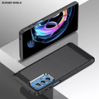 For Motorola Edge S Pro Case Fiber Carbon Shockproof Silicone Soft Case For Motorola Edge S Pro Cover for Motorola Edge S Pro