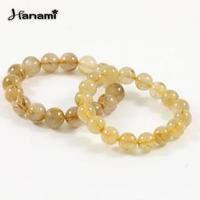 【Hanami】財源滿滿天然鈦晶圓珠手鍊