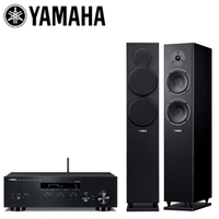 【YAMAHA 山葉】網路Hi-Fi二聲道音響組合(R-N303+NS-F150)