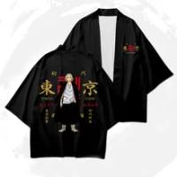 Anime TokyoRevengers Trang Phục Hóa Trang Áo Thun Hanagaki Takemichi Ken Ryuguji Haori Áo Mùa Hè Ngắn Tay Tee Cao Cấp