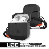 【UAG】AirPods 耐衝擊防水防塵保護殼-黑(UAG)