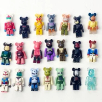 70% Bearbrick Bearbrickys DIY Fashion Toy PVC Action Figure Collectible Model Toy Decoration christmas gifts