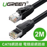 【綠聯】2M CAT8網路線(25Gbps電競級網路線)