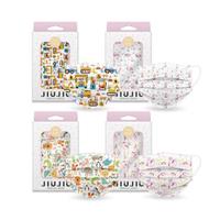 親親 JIUJIU~幼幼醫用口罩(10入)美人魚/獨角獸/車車/動物ABC 款式可選 MD雙鋼印