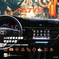 M1A TOYOTA豐田 11代 Altis 10吋智慧多媒體導航安卓機 Play商店 APP下載 KD-A94