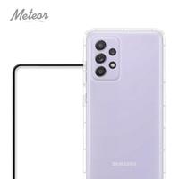 【Meteor】SAMSUNG Galaxy A52 5G 手機保護超值2件組-專案(透明空壓殼+鋼化膜)