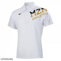 Mizuno Polo [32TA052401] 男 短袖 Polo衫 吸汗 速乾 合身 運動 休閒 白
