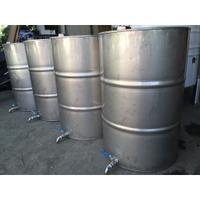 200公升白鐵桶加排水閥、50加侖油桶、白鐵油桶、不銹鋼油桶、汽油桶、蜂蜜桶、工業風油桶、儲存桶、沙拉油桶、白鐵桶、不銹