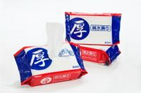 台農 愛 (厚) 純水濕巾80抽12包/箱 濕紙巾上蓋(藍/粉)