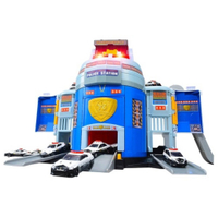 【Funbox】TOMICA 緊急出動! 巨無霸警察基地