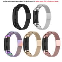 HWBD】 Huawei Band 3 / Band 3 pro / Band 4 pro 不銹鋼錶帶更換配件 (不