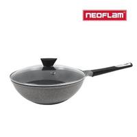 【NEOFLAM】VENN系列30cm炒鍋(含玻璃蓋)